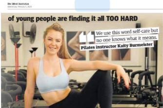 LA Fit in the West Australian News
